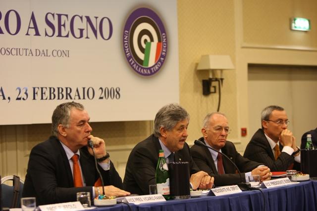 Assemblea Straordinaria UITS  Roma 23/02/2008