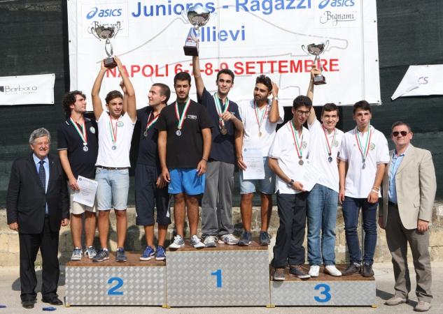 Campionati italiani juniores, ragazzi e allievi Napoli