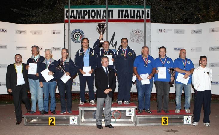 Campionati Italiani Seniores, uomini, donne,master - Milano