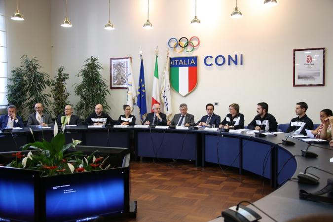 Conferenza Stampa Presentazione Squadra Giochi Olimpici Rio 2016